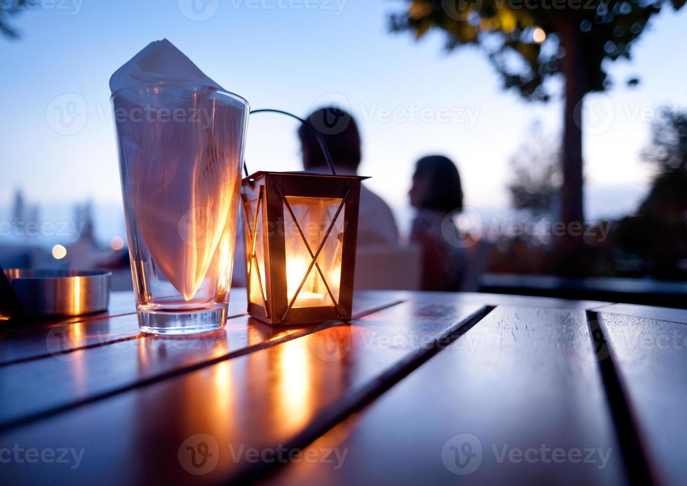 tavolo ristorante mediterraneo foto