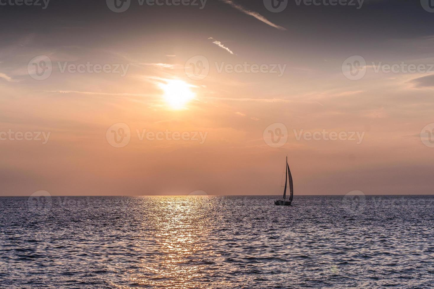 andare in barca foto