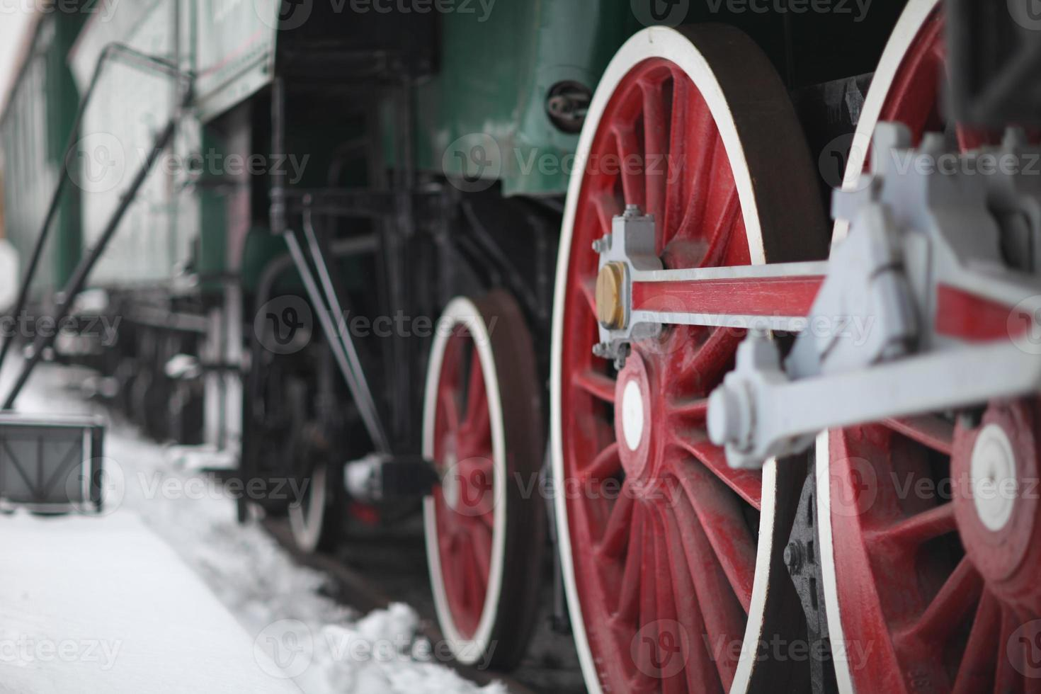 locomotiva a vapore foto