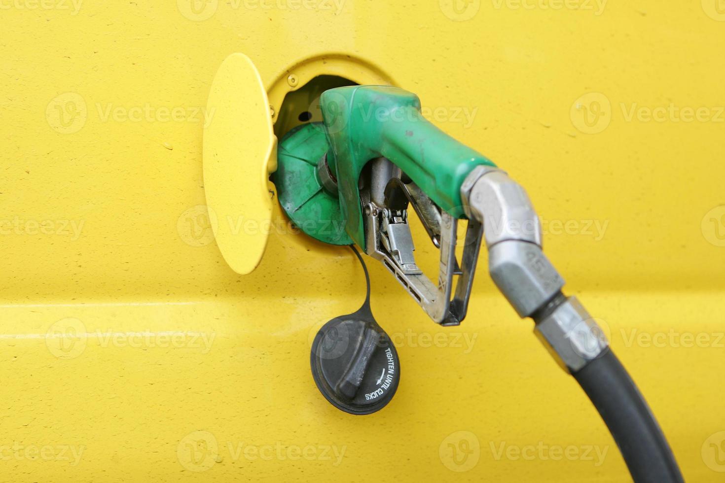 pompa diesel foto
