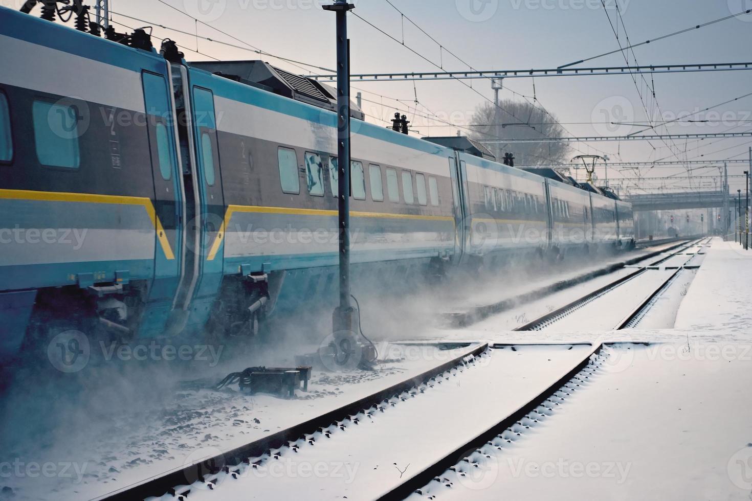 treno espresso foto