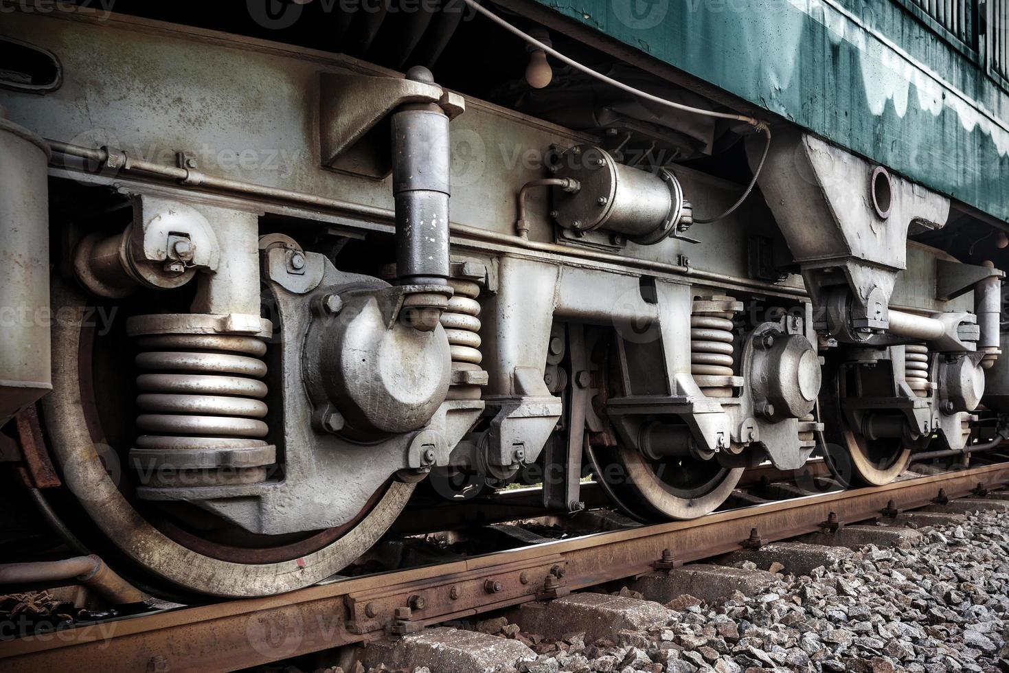 ruote del treno foto