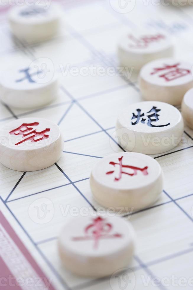 gioco di scacchi cinese foto