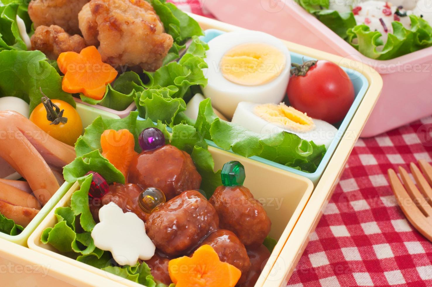 pranzo colorato giapponese foto
