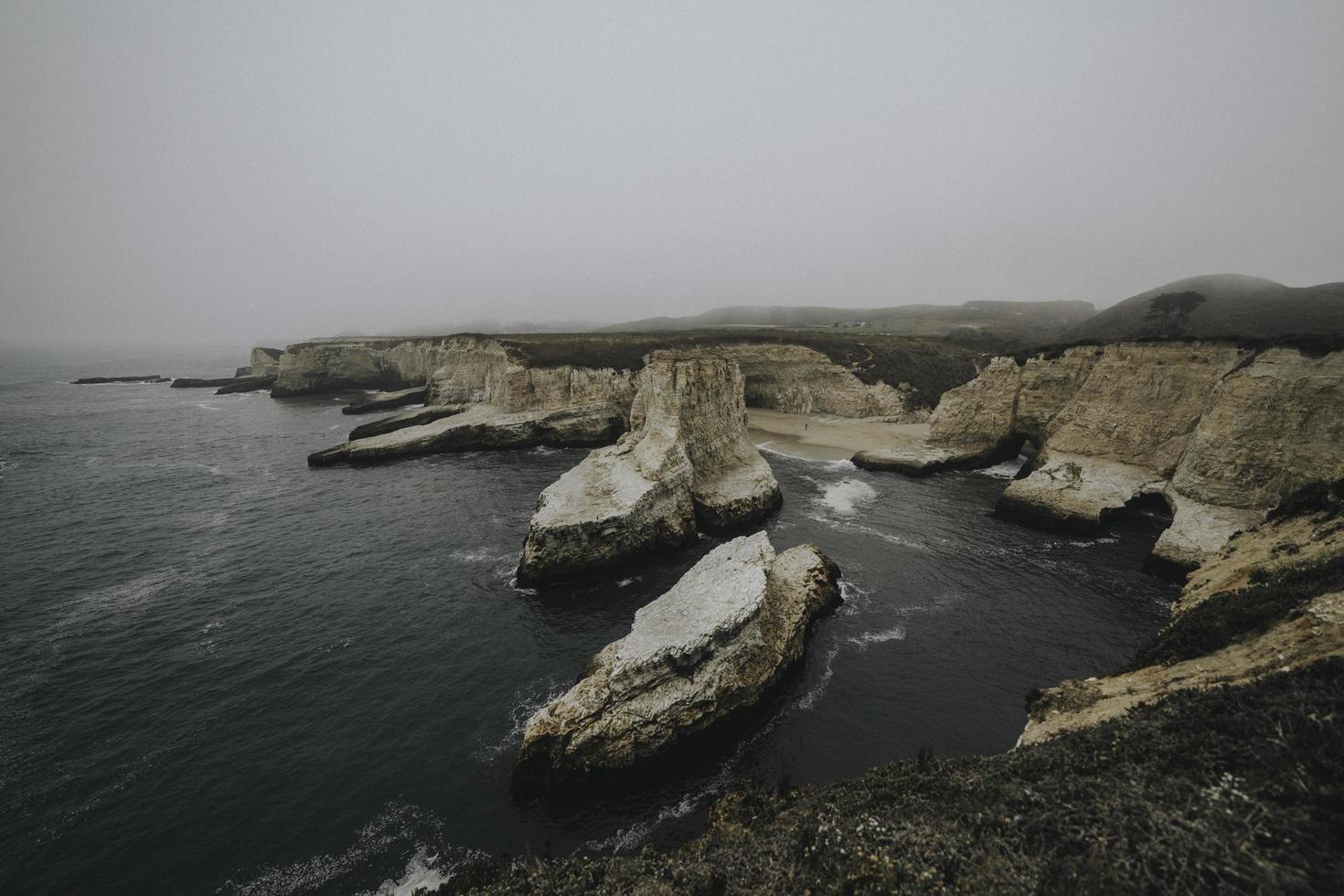 Shark Fin Cove in California foto