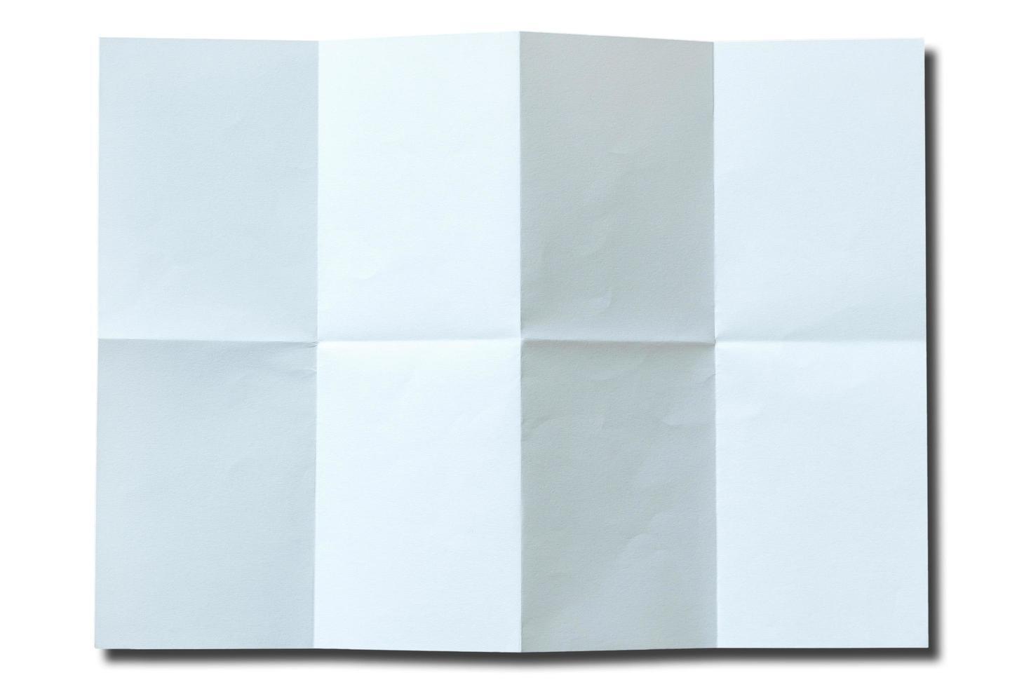 isolato sfondo del libro bianco foto