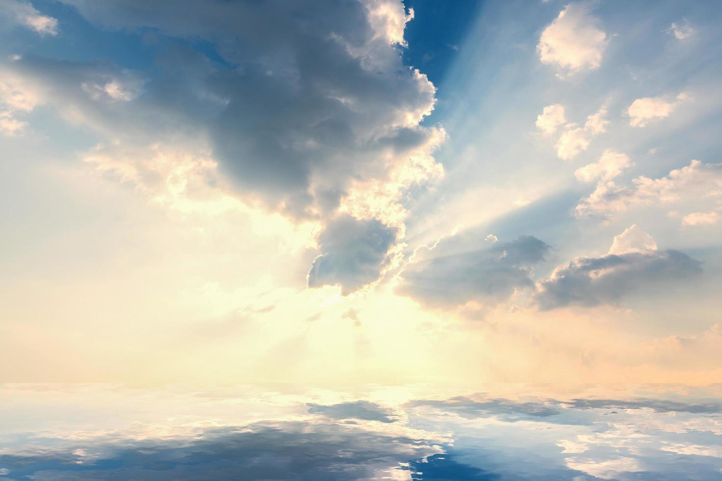 sfondo del cielo drammatico foto