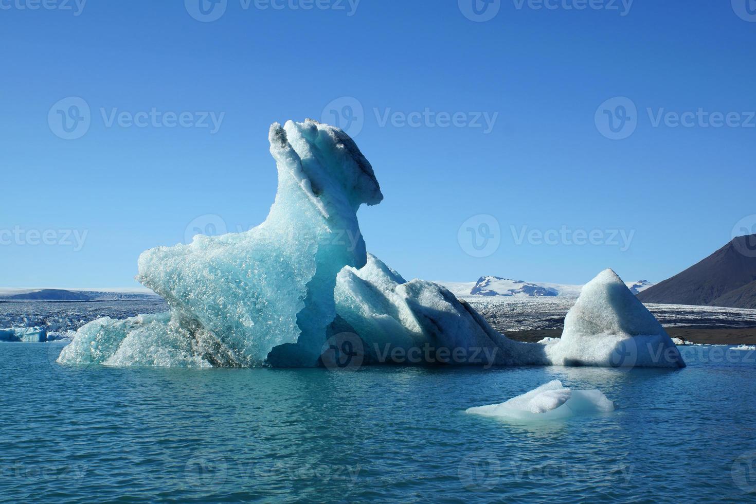 scultura di ghiaccio foto