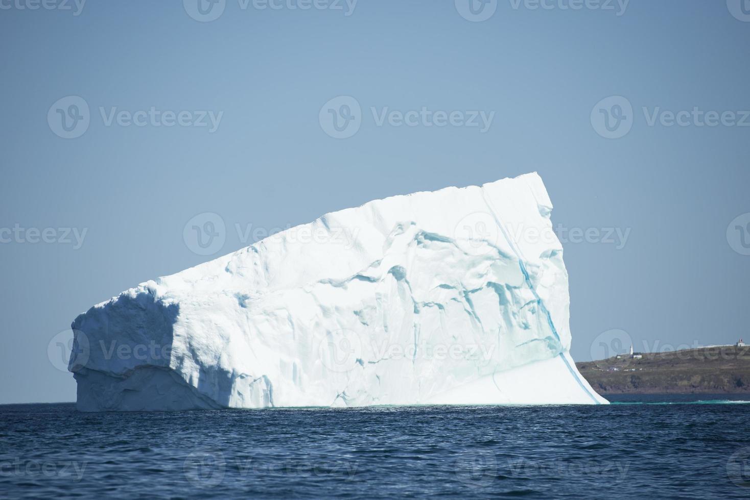 iceberg del porto di san giovanni foto