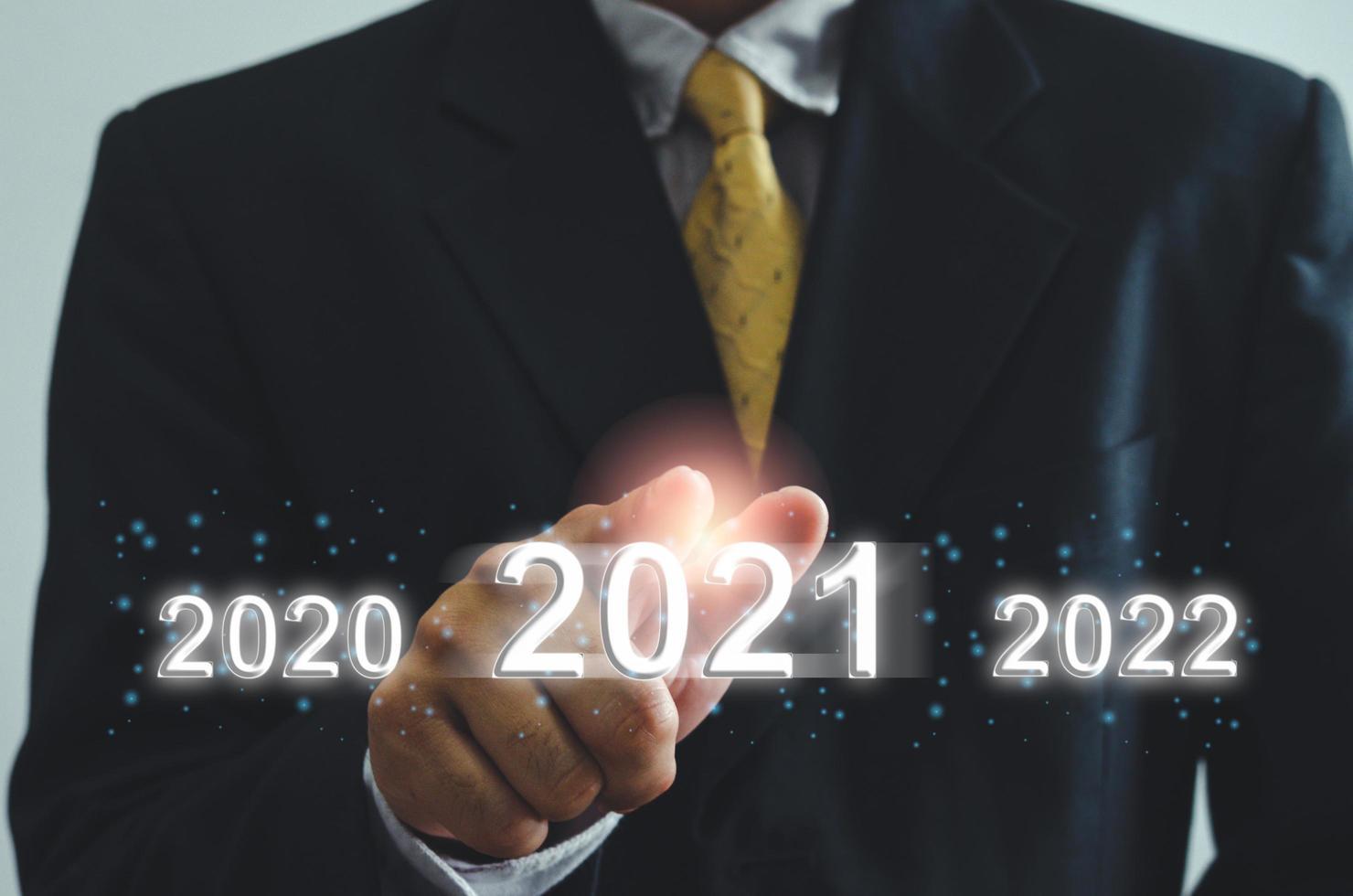 2021 concetto di business foto