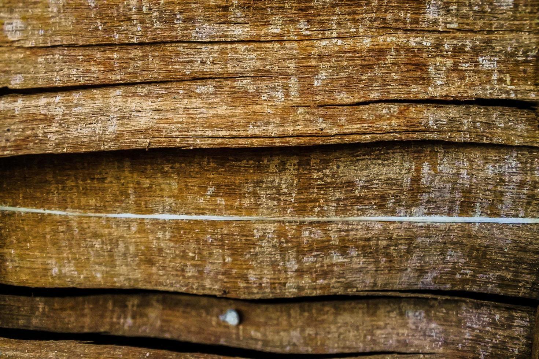 fondo di struttura della plancia di legno scuro marrone foto