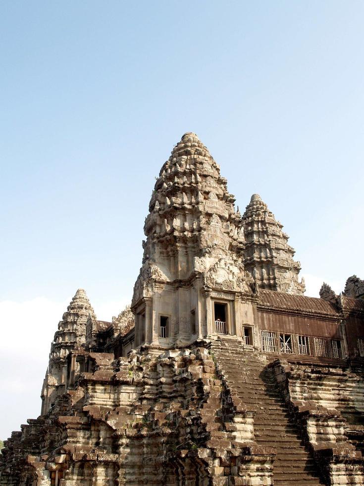tempio di angkor wat cambogia foto