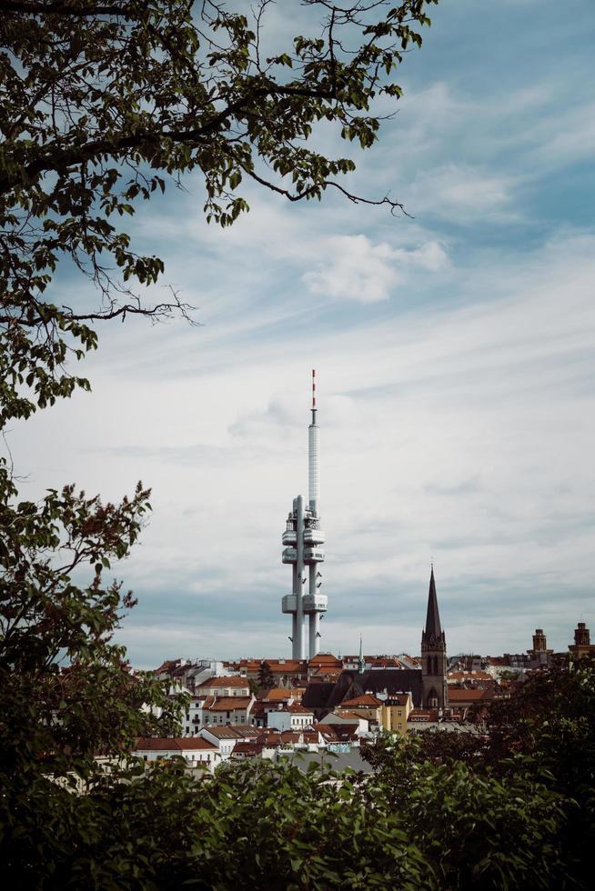 torre a praga foto