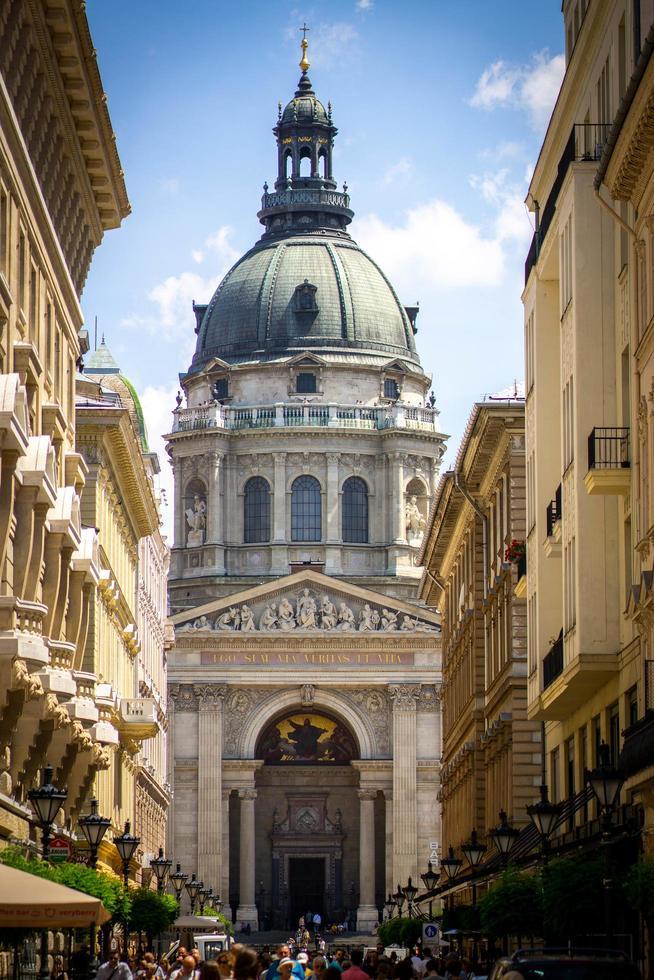 st. stephens basilica a budapest, ungheria foto