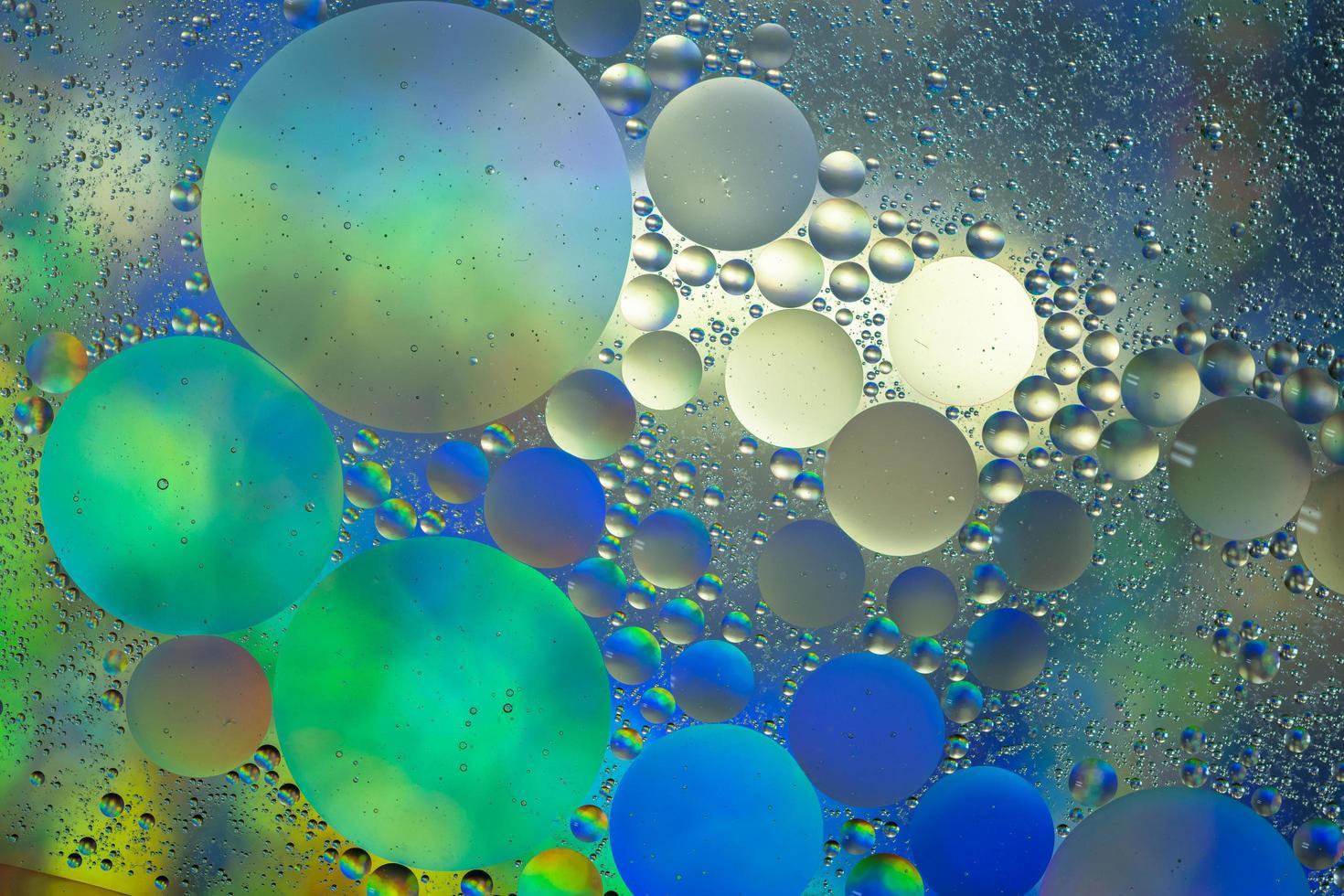 acqua e olio, sfondo astratto foto