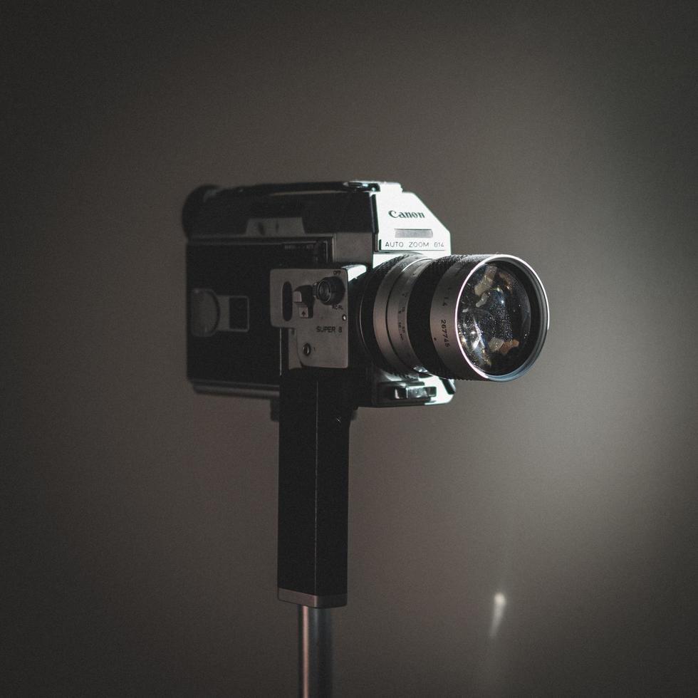 videocamera vintage canon foto