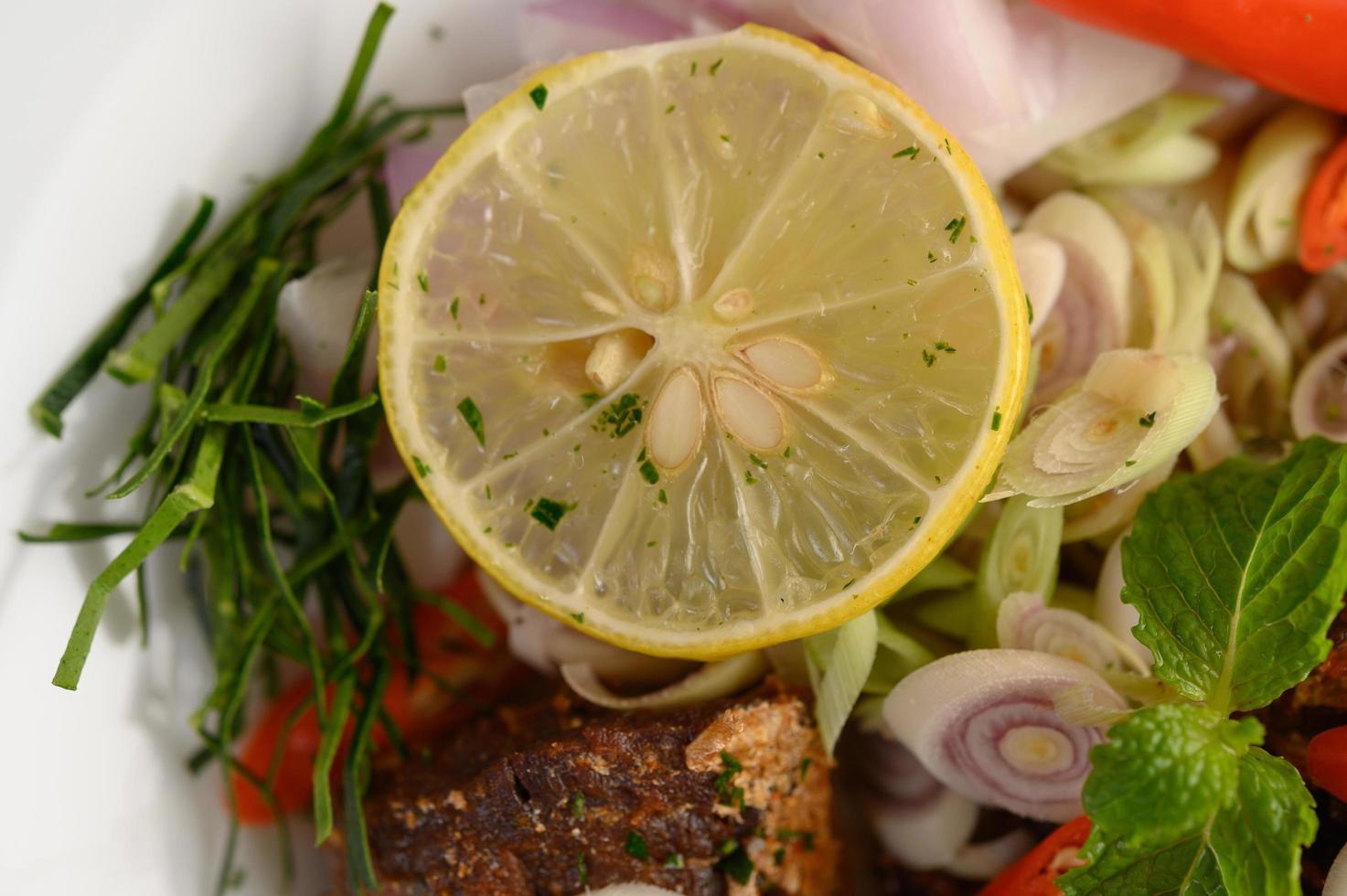 insalata di sarde piccanti foto