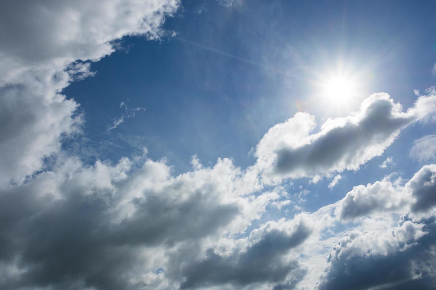 il cielo e le nuvole foto