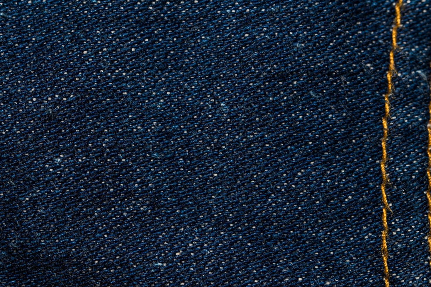 primo piano del tessuto dei jeans foto