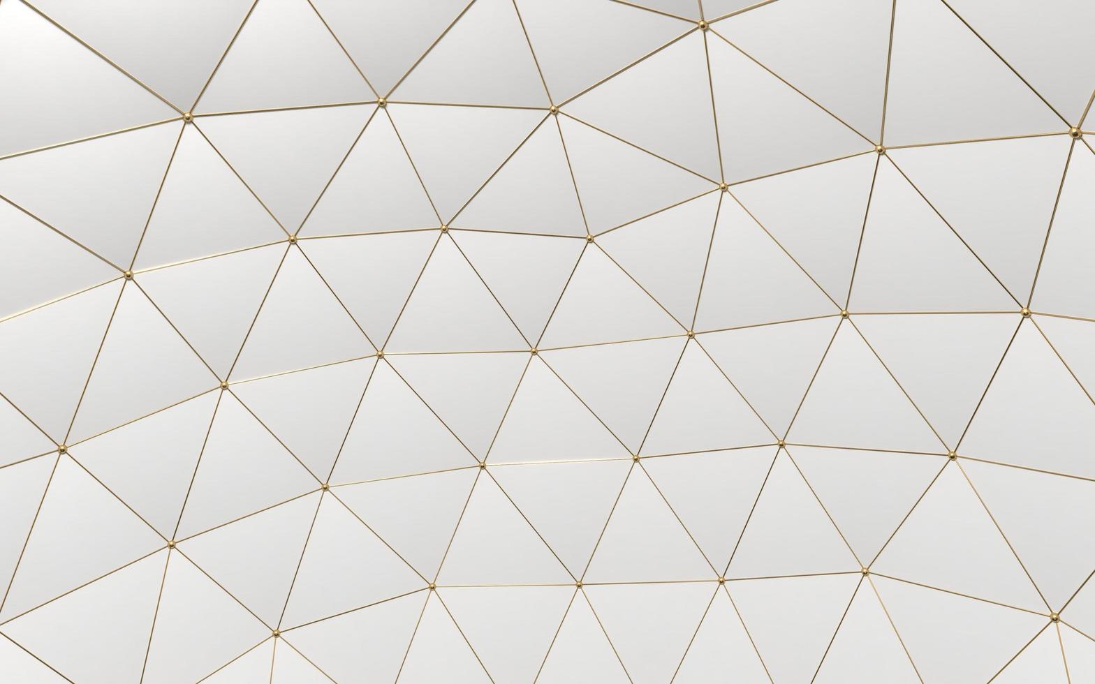 poligoni d'oro moderni astratti foto