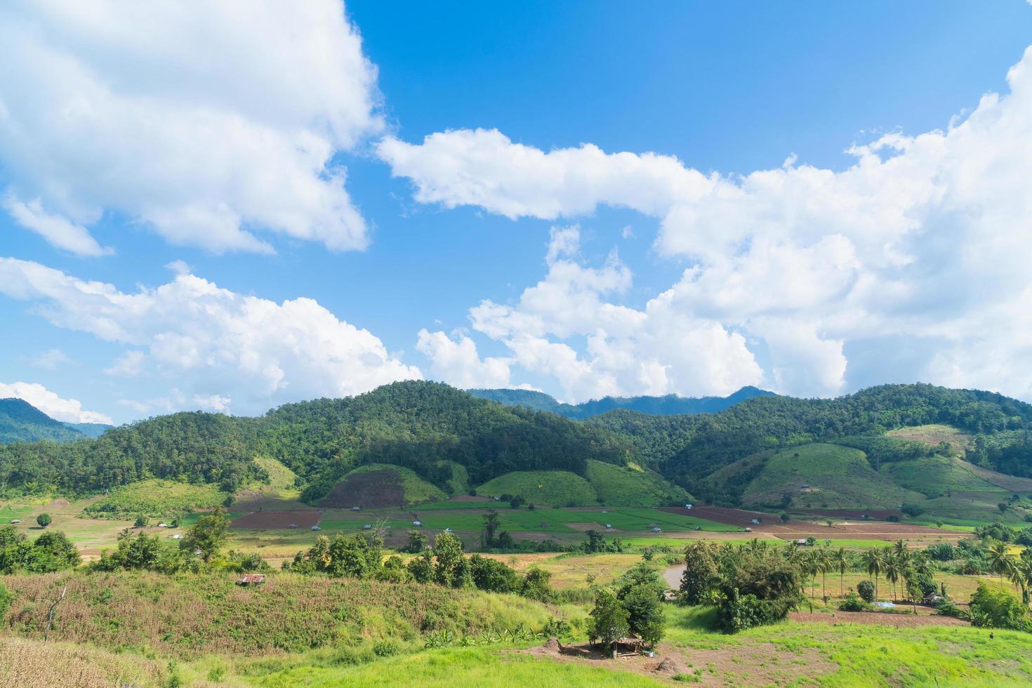paesaggio in thailandia foto