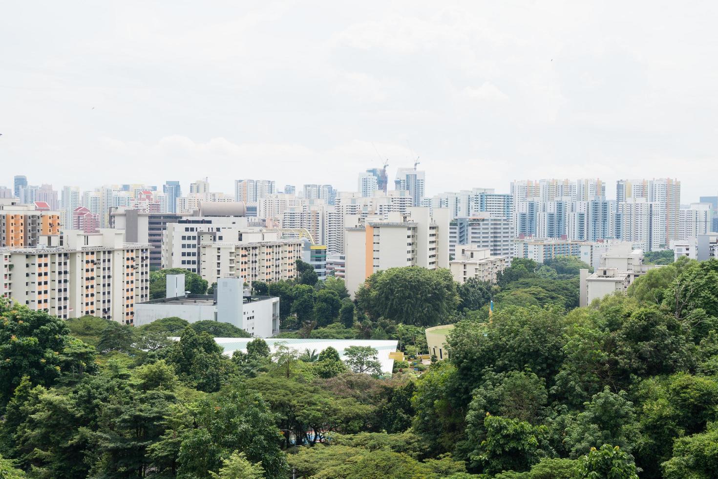 paesaggio urbano a singapore foto