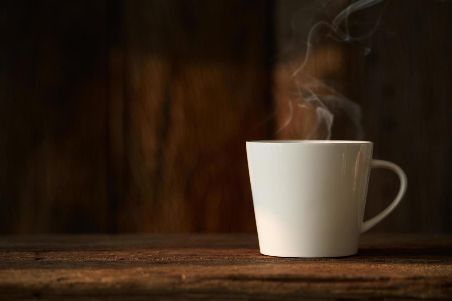 tazza di caffè bianca foto