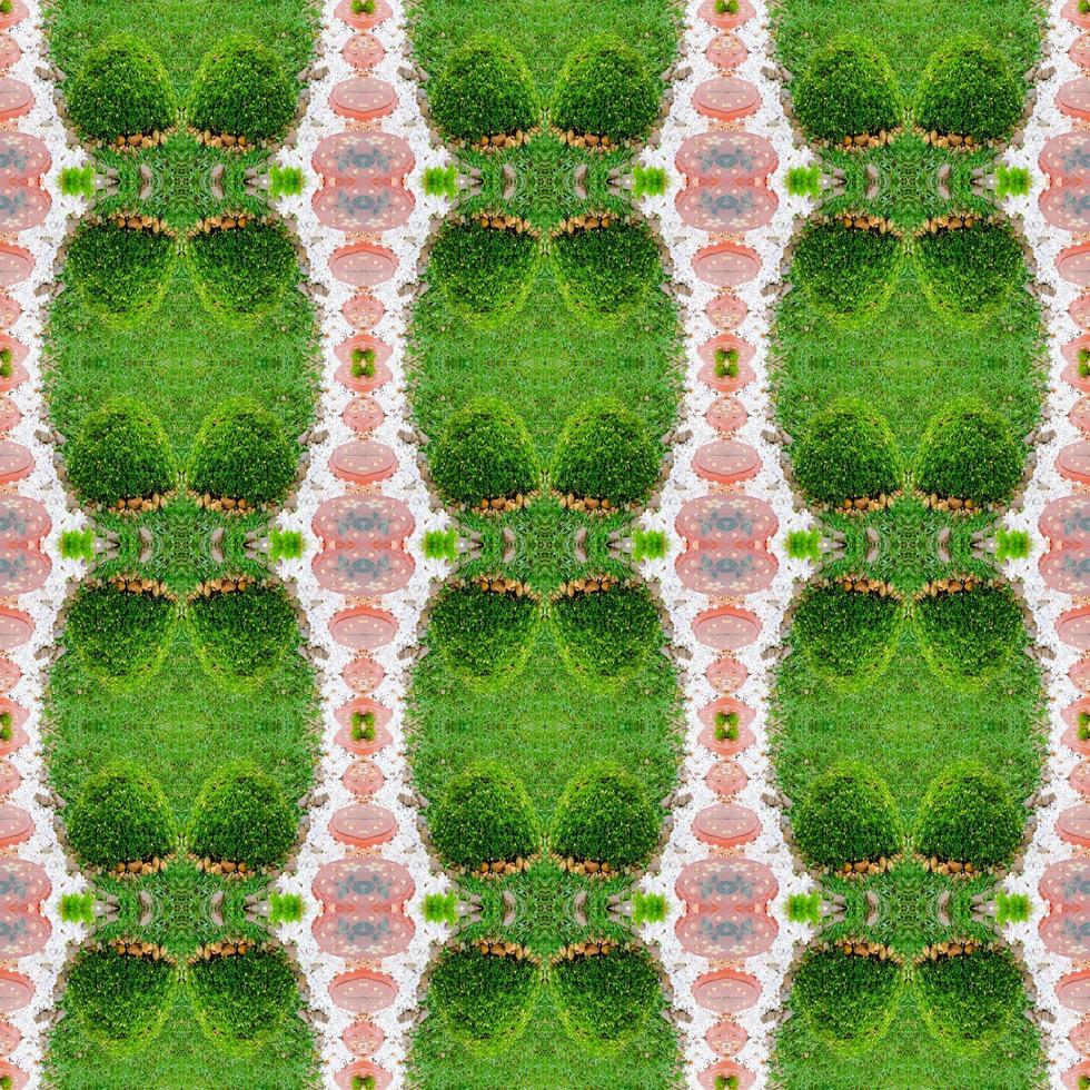 modello verde simmetrico astratto foto