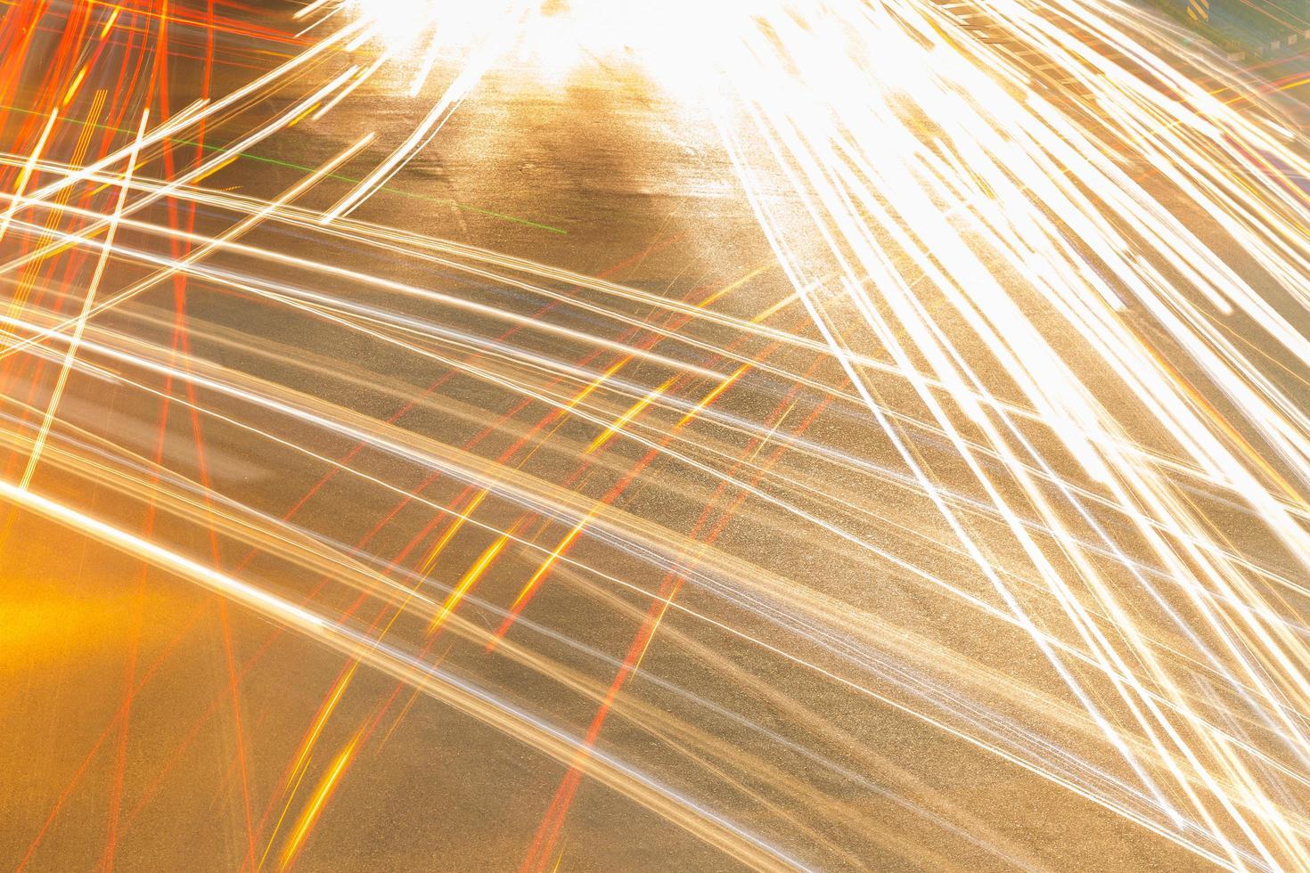luci di automobili foto