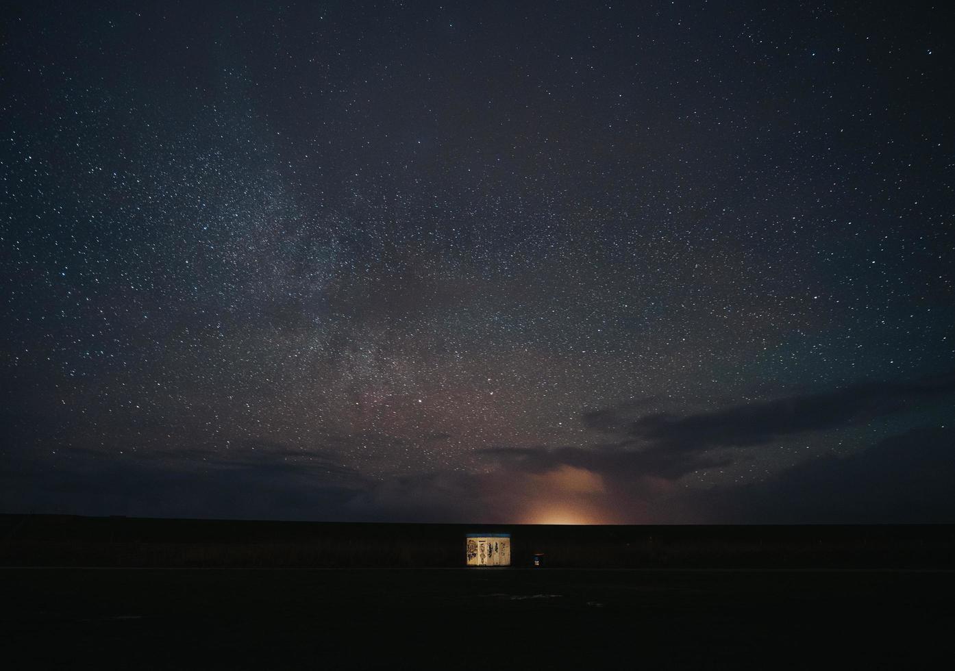 cielo pieno di stelle foto