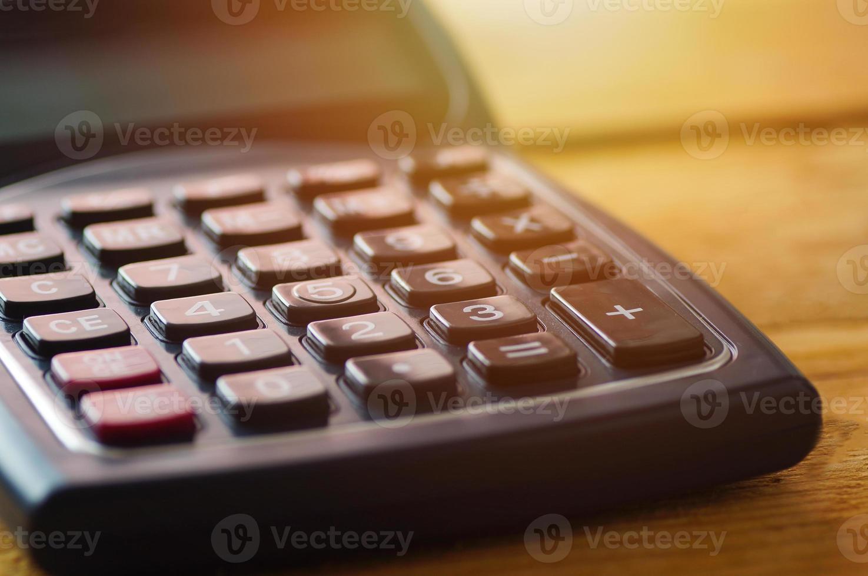 calcolatrice per la contabilità foto
