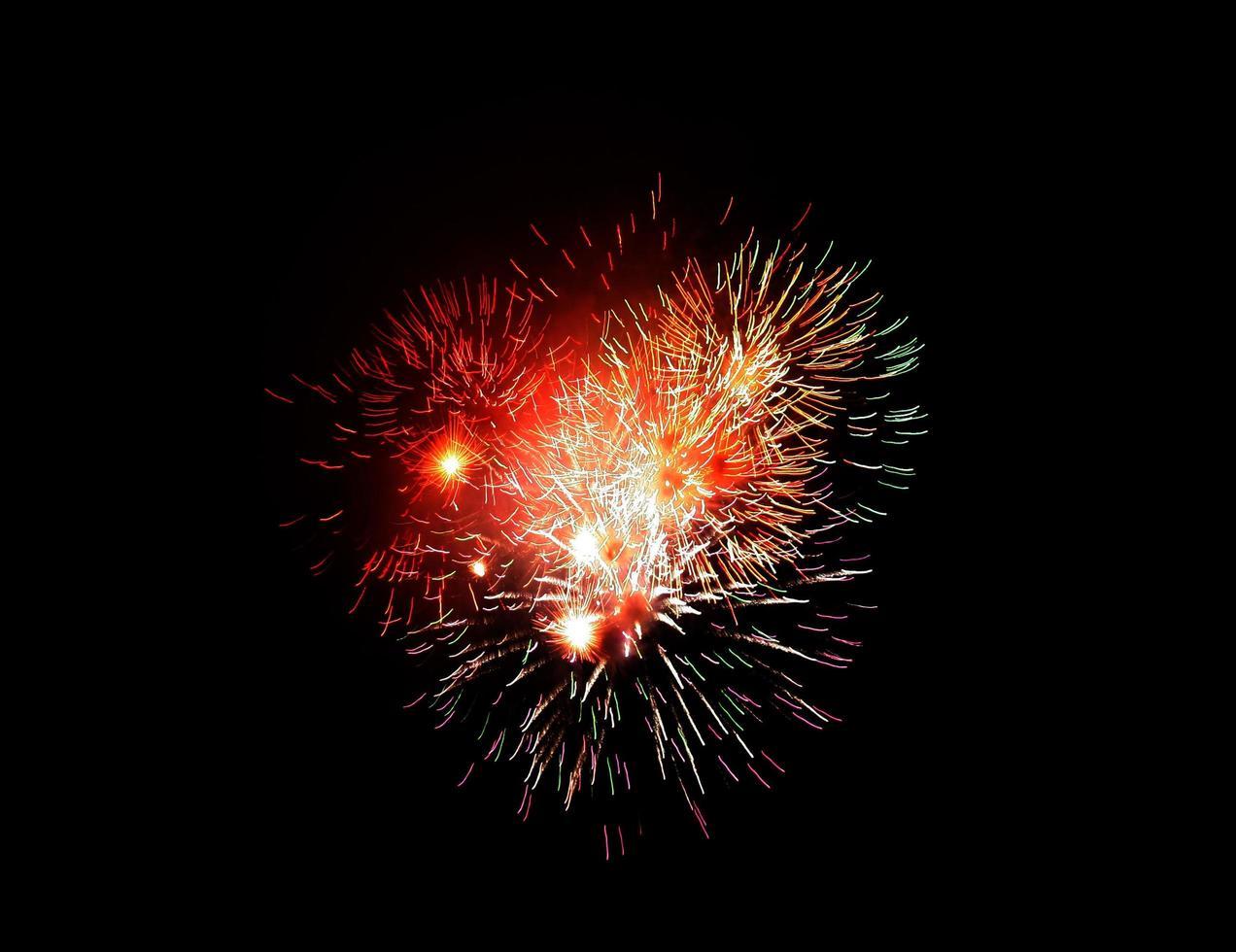 gruppo di fuochi d'artificio foto