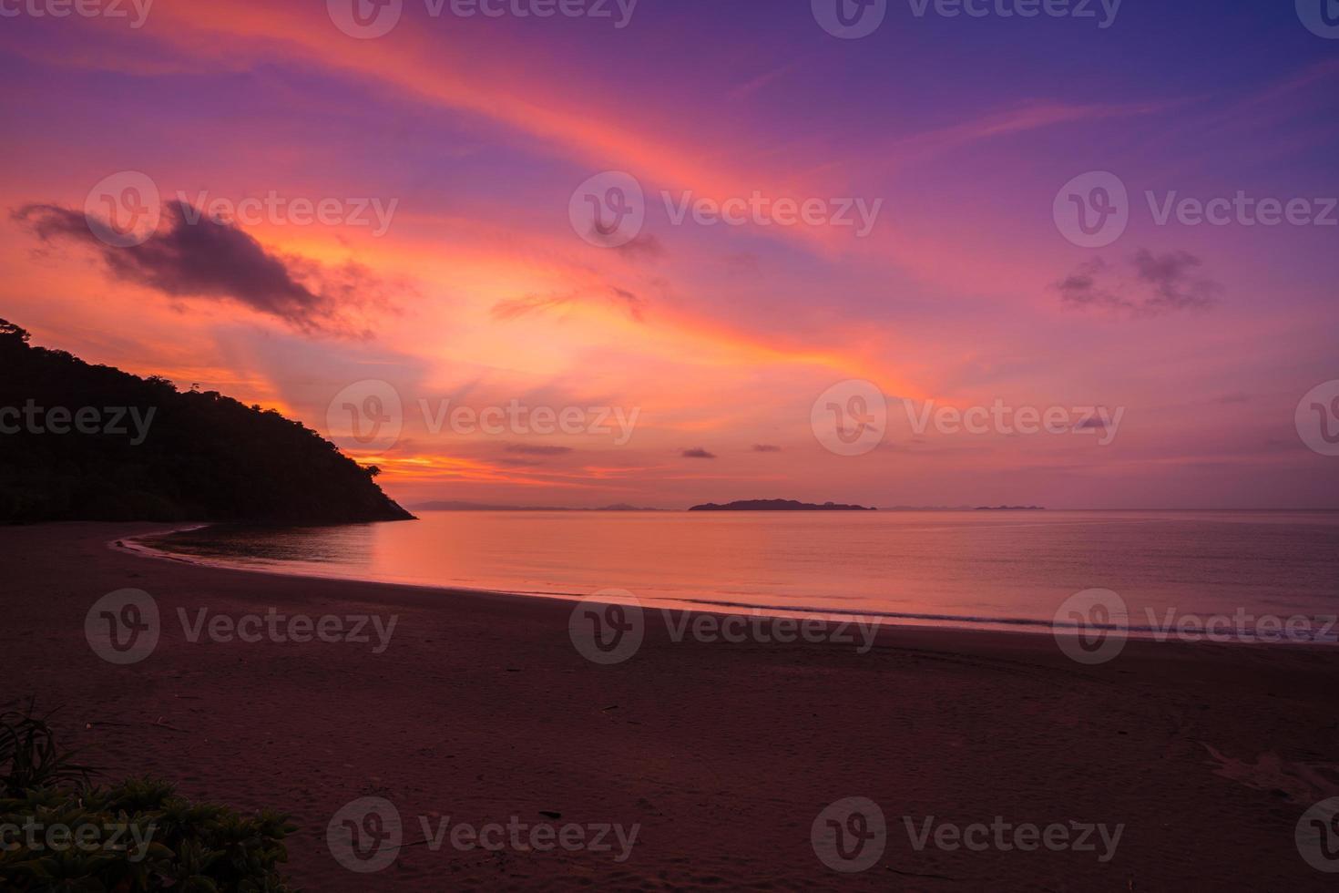 alba rosa e arancione foto
