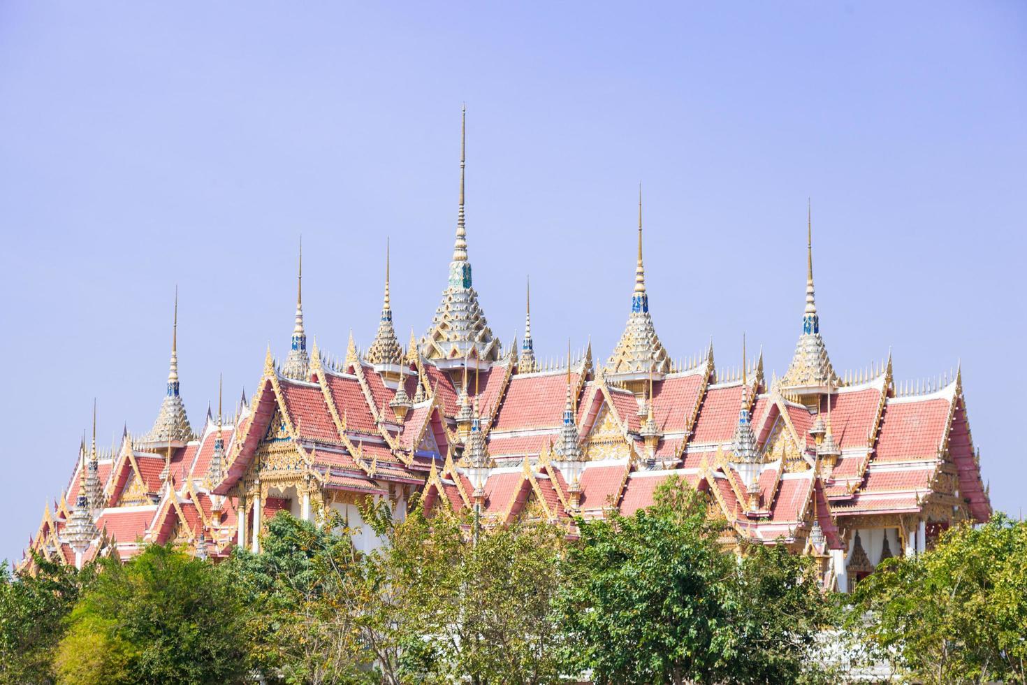 tempio di wat phai rong wua foto