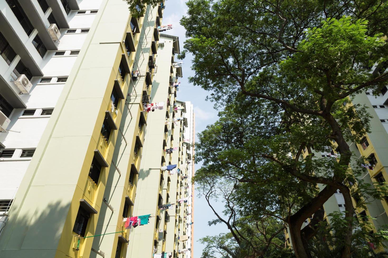edifici condominiali a singapore foto