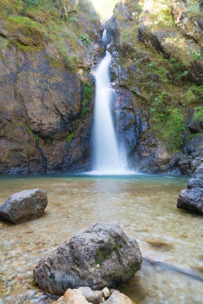 cascata nel parco nazionale foto