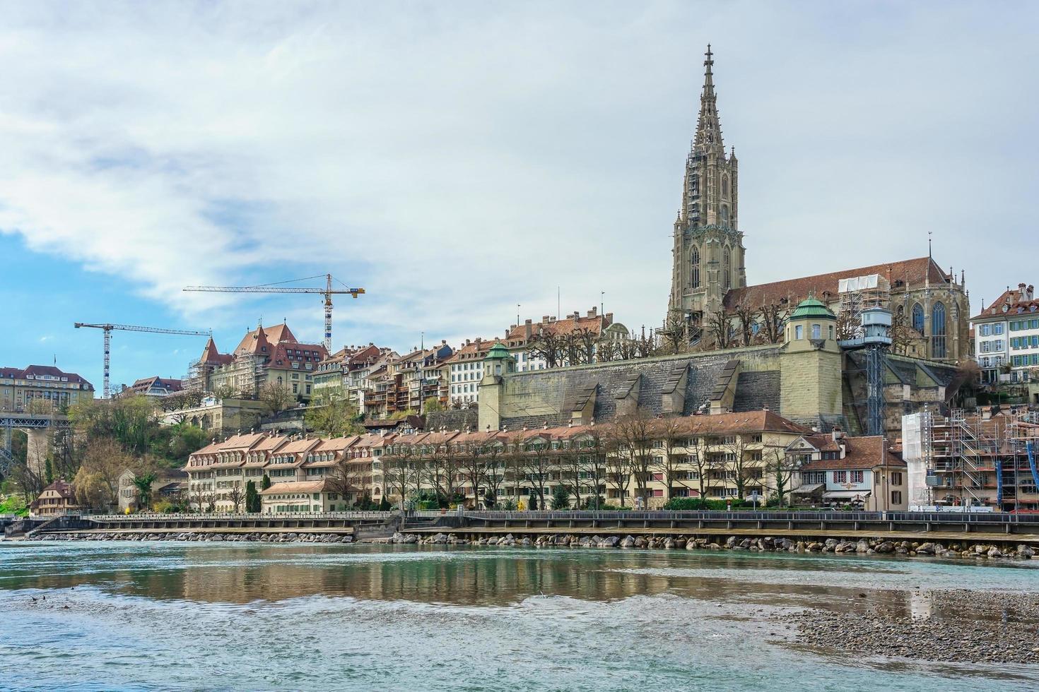 vista panoramica di berna, capitale della svizzera, 2018 foto