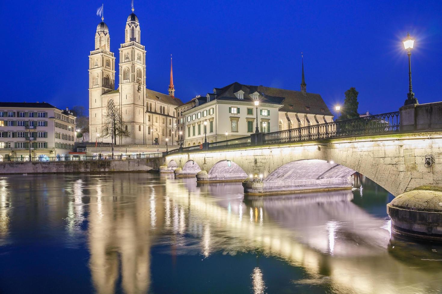 centro della città di zurigo, svizzera foto