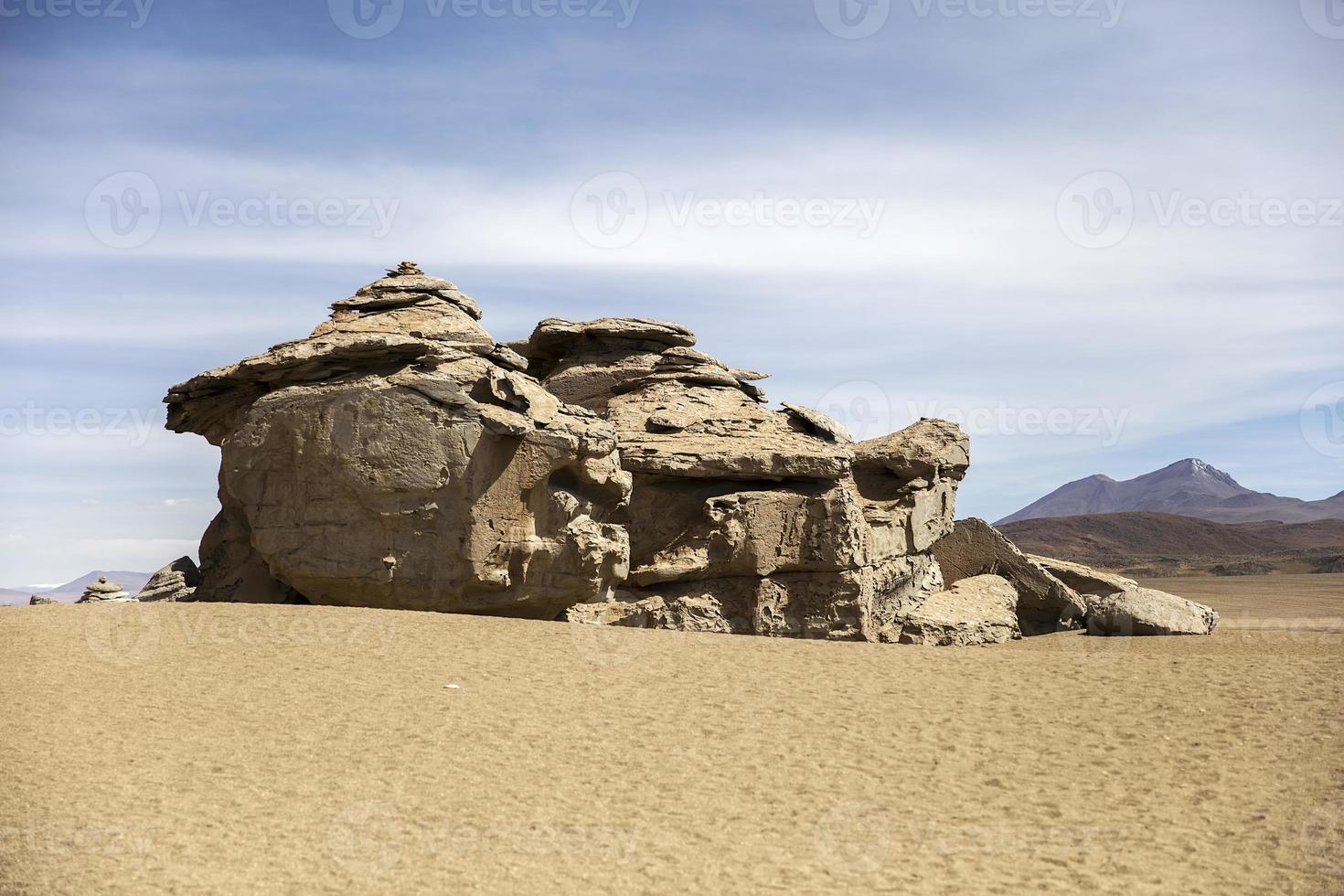 formazioni rocciose del deserto di Dali in Bolivia foto