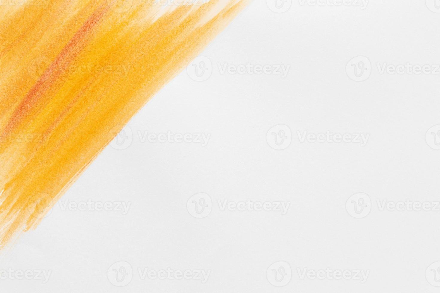 spazio arancione della copia della vernice dell'acquerello. risoluzione e bella foto di alta qualità