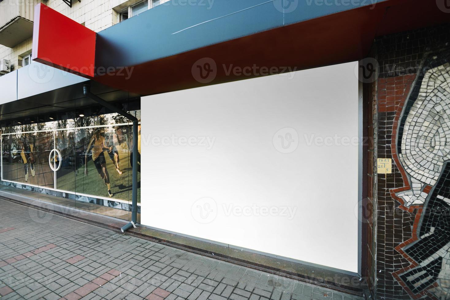 costruzione di pannelli pubblicitari. alta qualità e risoluzione bellissimo concetto di foto