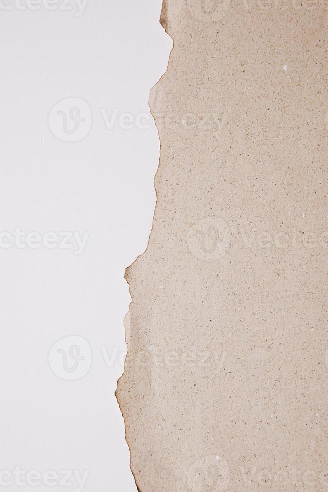 sfondo trama di carta marrone foto