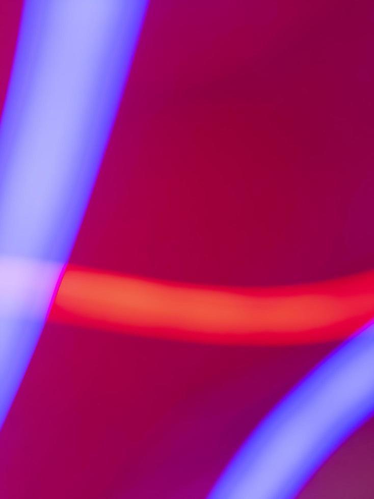 astratto sfondo colorato al neon. effetto percorso di luce. illustrazione di riserva digitale. foto