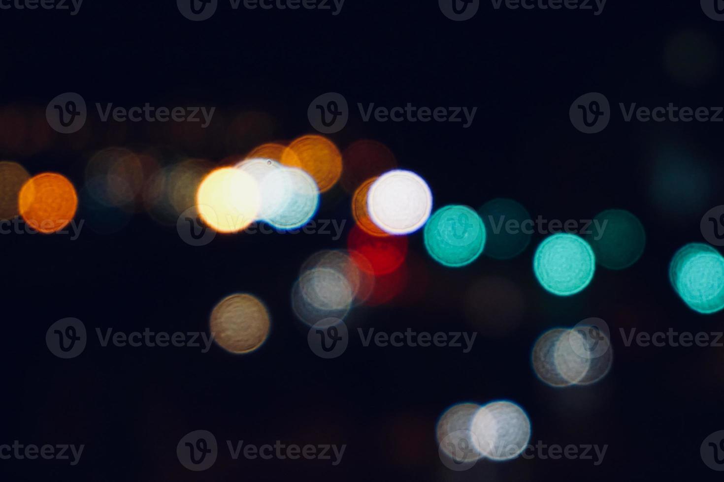 lampioni colorati di notte foto
