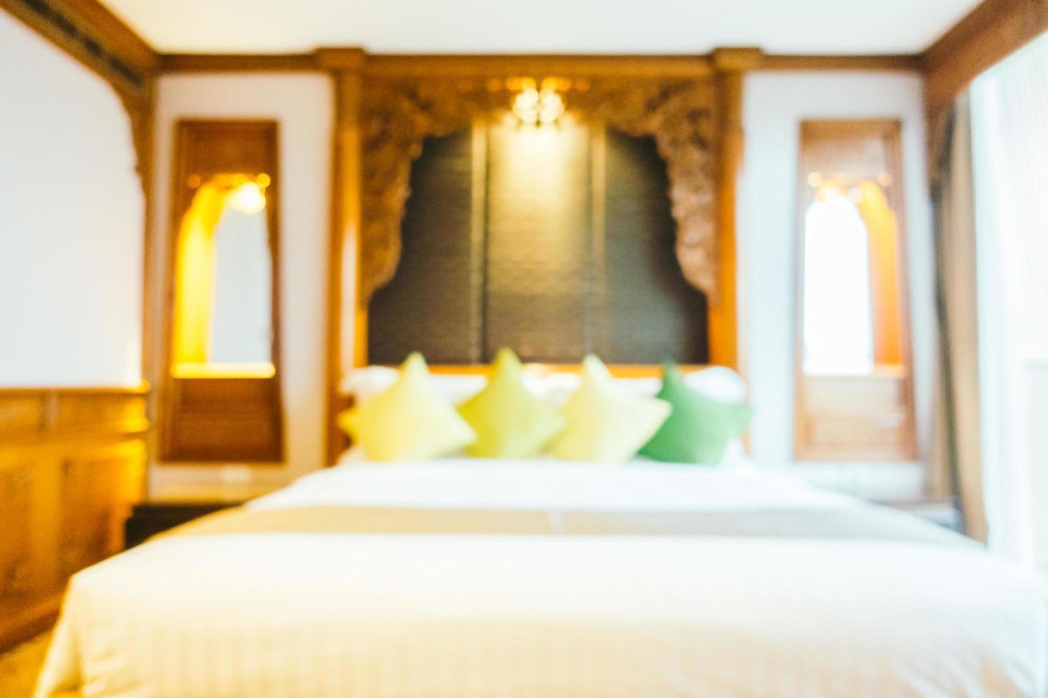 sfocatura astratta camera da letto foto