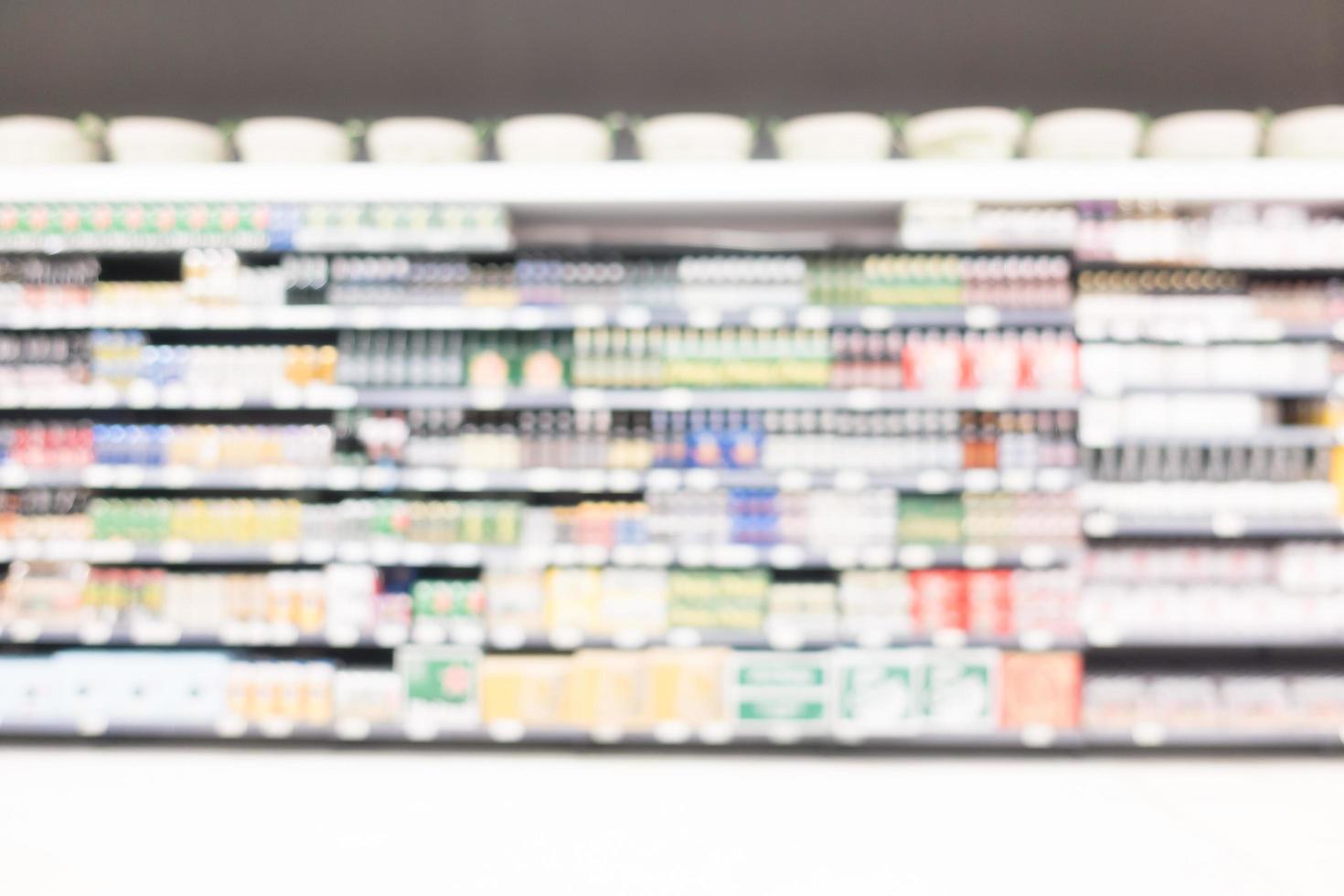 supermercato sfocatura astratta foto