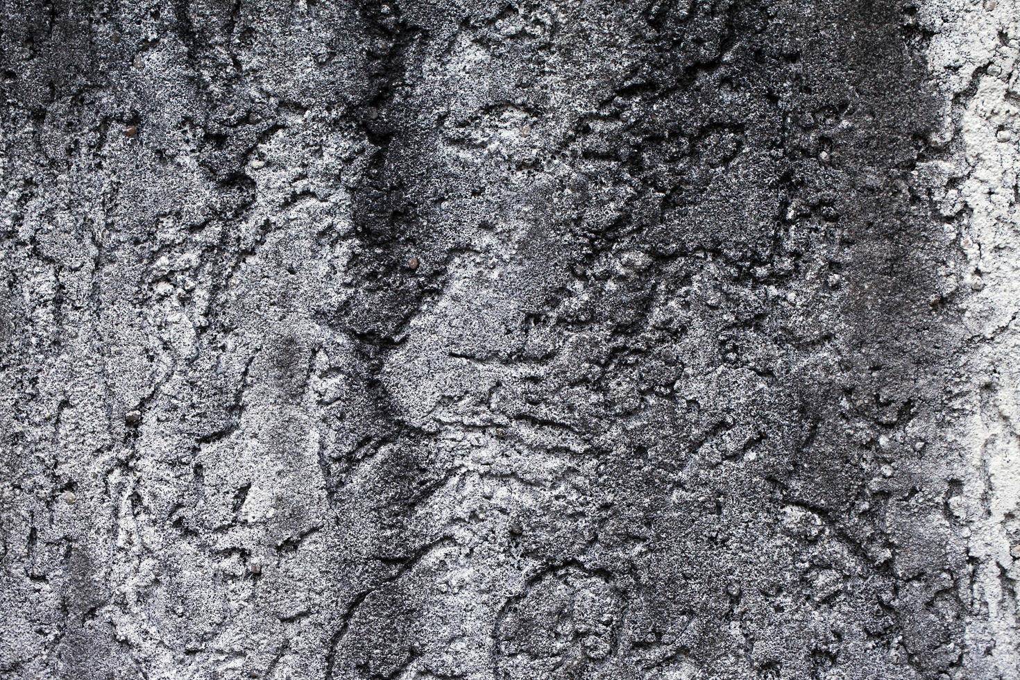 sfondo muro di pietra incrinato sporco grunge astratto foto