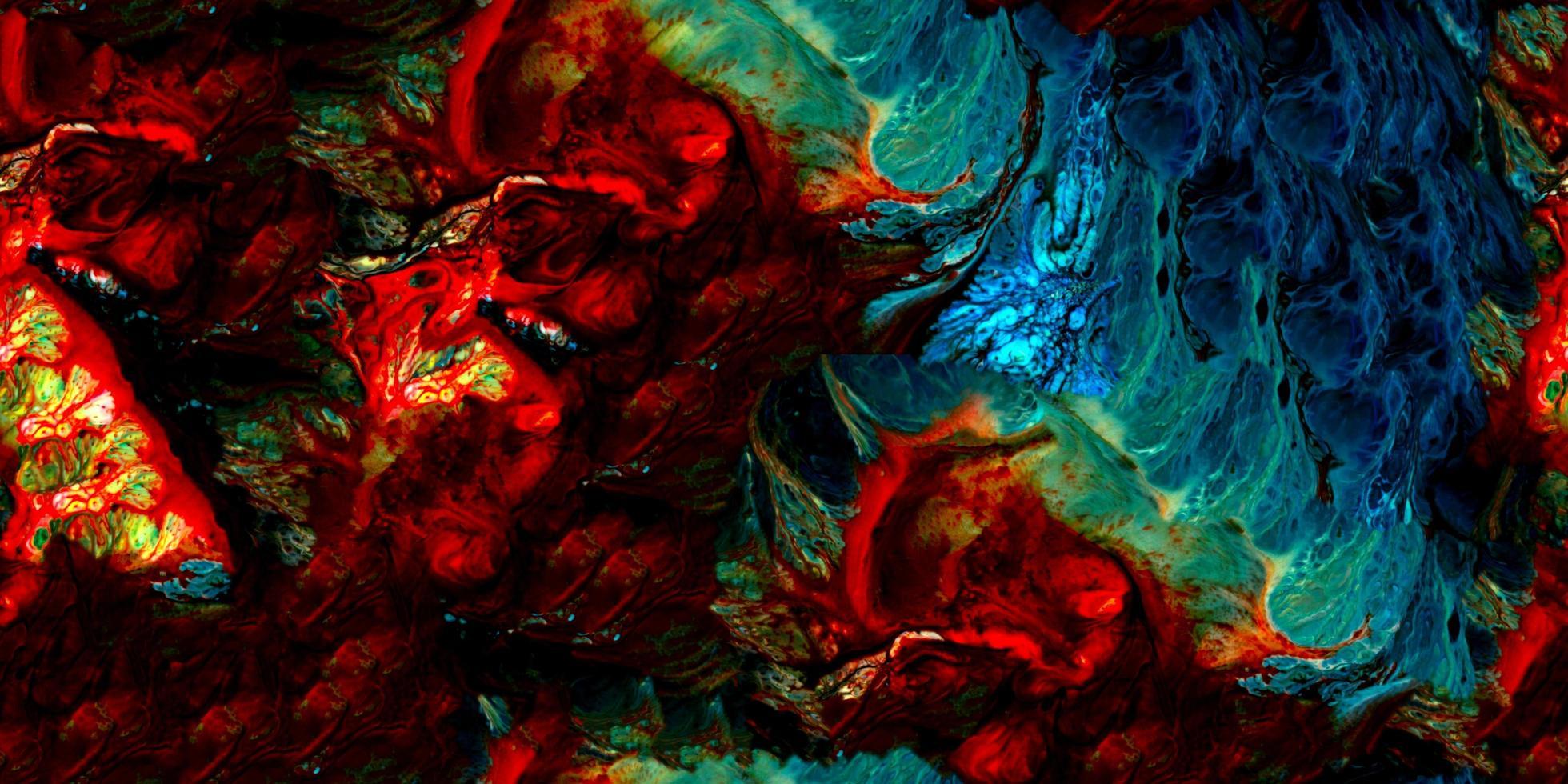 vernice colorata astratta surreale sfondo samless e piastrellabile foto