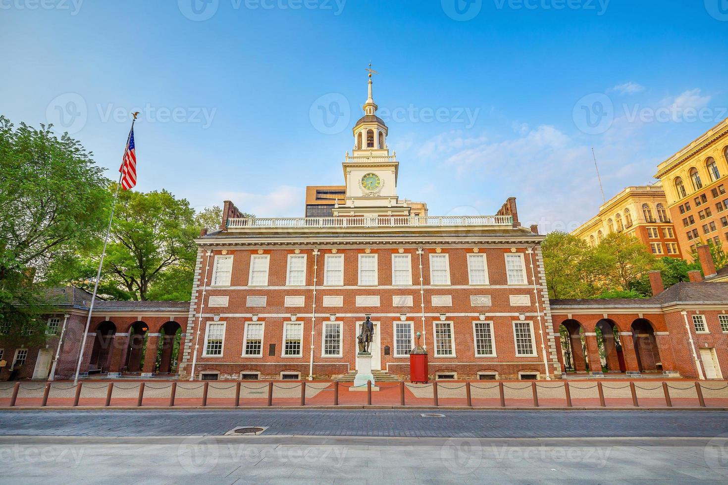 Independence Hall di Philadelphia, Pennsylvania foto
