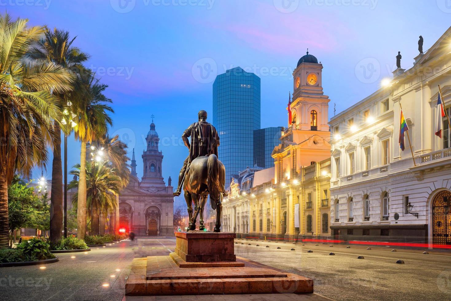 Plaza de las armas a santiago foto